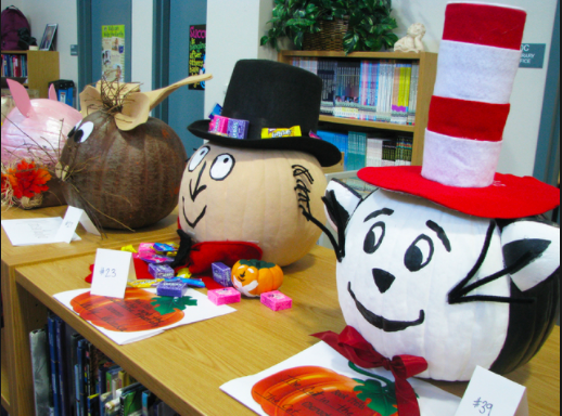 Heritage Library Book Character Pumpkin Contest!