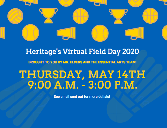 Heritage's Virtual Field Day 2020!