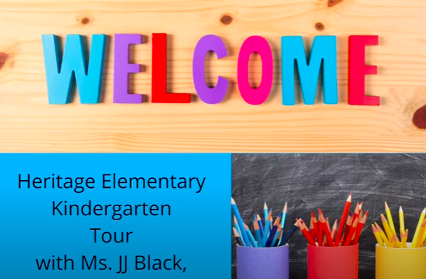 Welcome to Kindergarten Tour!