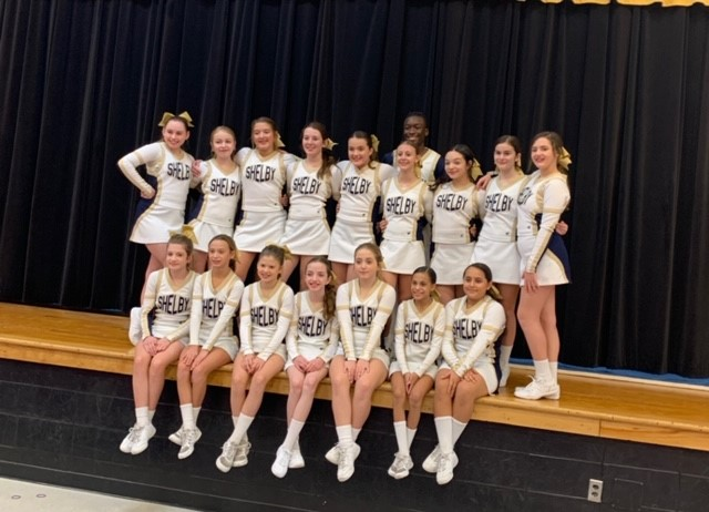 East Middle Cheer Team