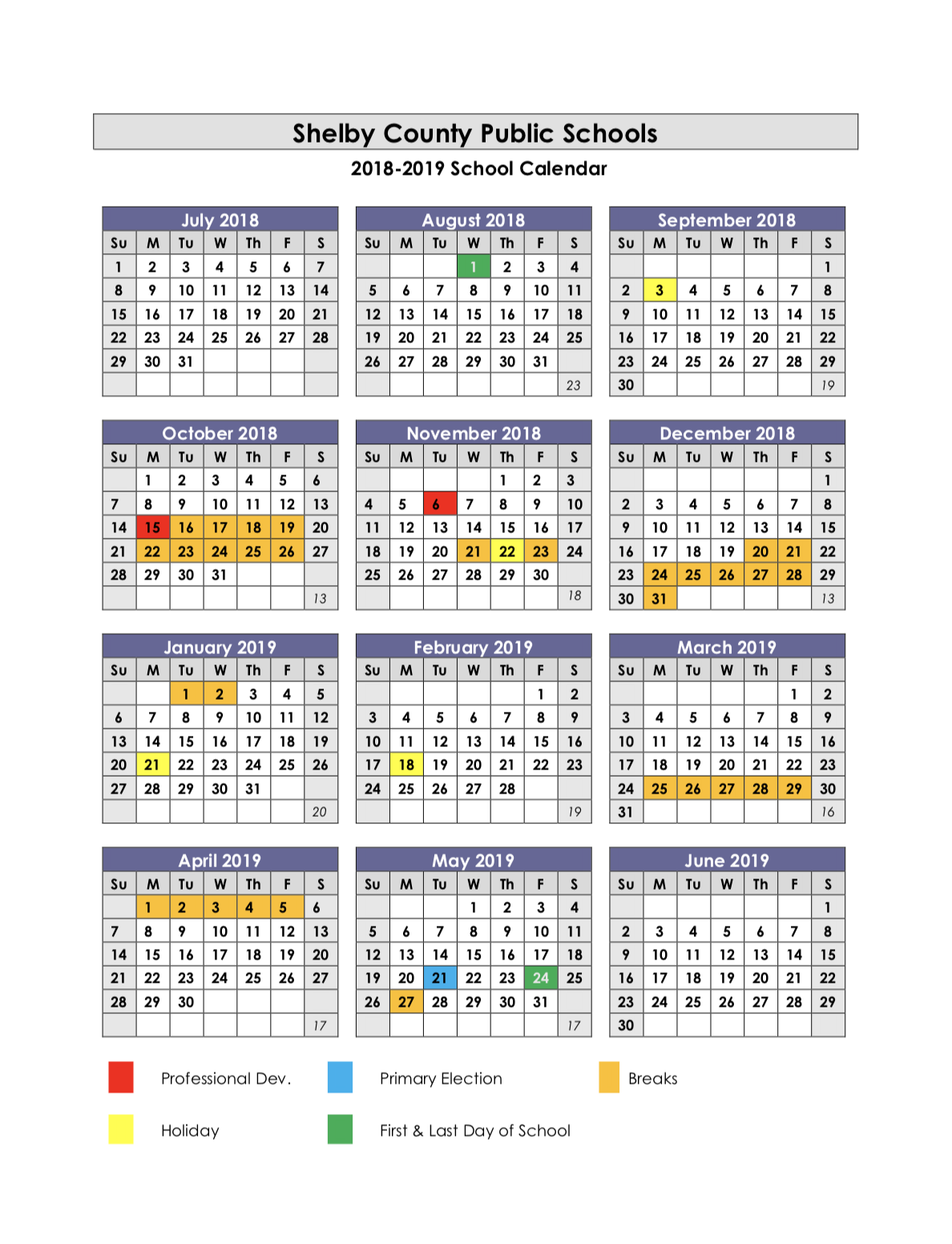 Jcps School Calendar 2020 Collins High School / Calendar