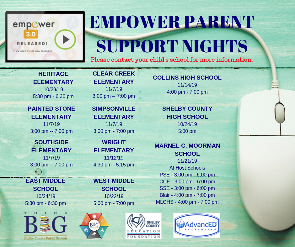 Empower Parent Support Night Dates png