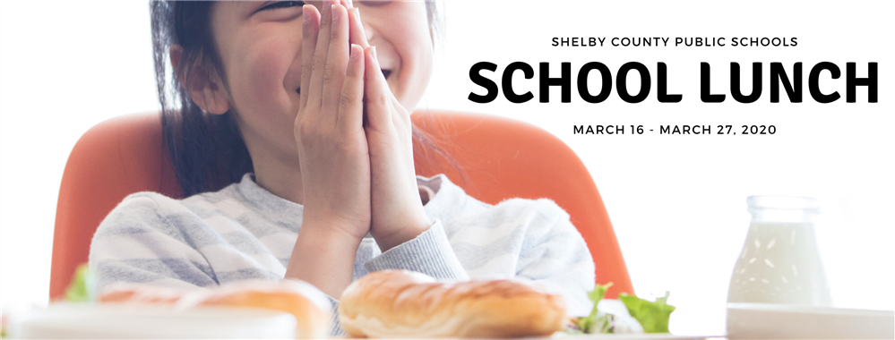 SCPS Free Breakfast and Lunch from March 16th - March 27.  Desayuno y almuerzo gratis de SCPS del 16 al 27 de marzo