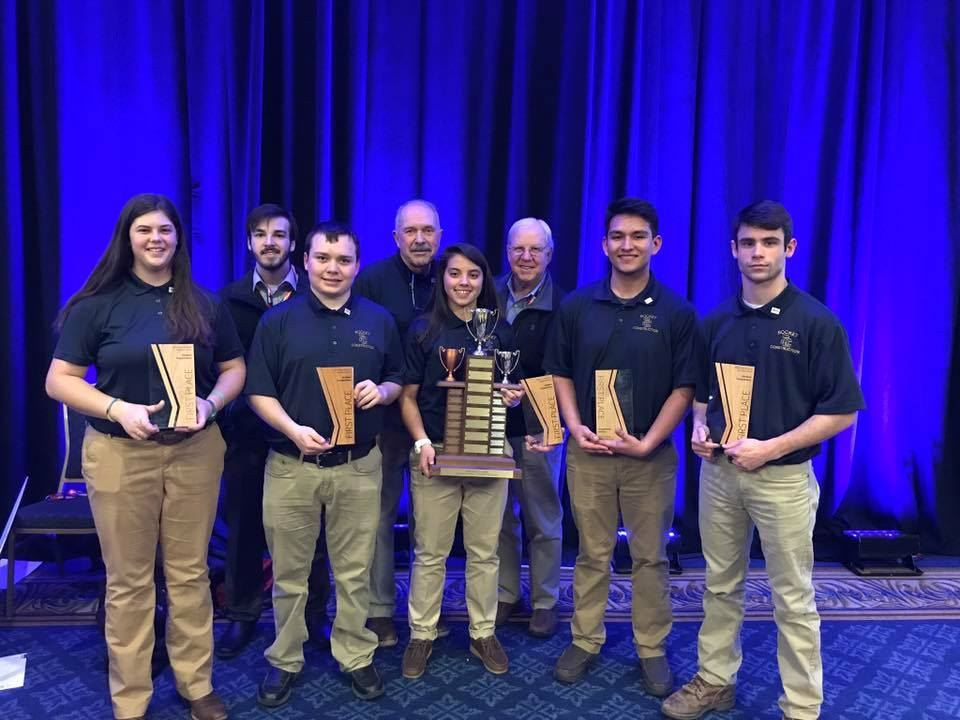 SCHS Construction Team Brings Home 1st Place Award in NAHB Competition